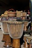 Afrykańscy sztuki wioski rzemiosła w Tucson Obraz Royalty Free