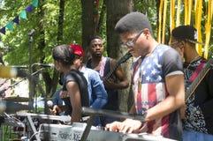 Afrykańska błękit muzyka rockowa Zdjęcie Royalty Free