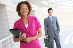 afrykańska biznesowego biura kobieta zdjęcie royalty free