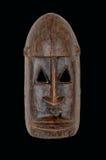 Afrykanin maska Zdjęcie Royalty Free