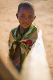 afrykańska chłopiec Obrazy Royalty Free