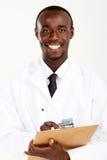 afrykańska farmaceuta zdjęcia stock