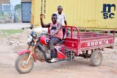 Afrykańska młodość Fotografia Royalty Free