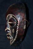 Afrykańska Plemienna maska - Bakoba plemię Obrazy Stock