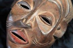 Afrykańska Plemienna maska - Chokwe plemię Zdjęcia Stock