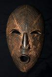 Afrykańska Plemienna maska - Lega plemię Zdjęcie Royalty Free