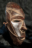 Afrykańska Plemienna maska - Lega plemię Zdjęcia Royalty Free