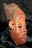 Afrykańska Plemienna maska - Luba plemię Obraz Royalty Free