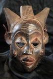 Afrykańska Plemienna maska - Luba plemię Zdjęcia Royalty Free