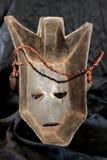 Afrykańska Plemienna maska - Luba plemię Zdjęcie Royalty Free