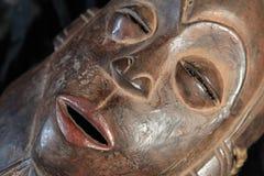 Afrykańska Plemienna maska - Tabwa plemię Zdjęcia Royalty Free