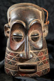 Afrykańska Plemienna maska - Zande plemię Obrazy Royalty Free
