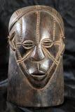 Afrykańska Plemienna maska - Zande plemię Zdjęcia Royalty Free