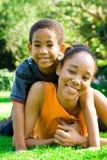 afrykańska rodzina Zdjęcia Stock