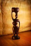 afrykańska rzeźba Zdjęcia Royalty Free
