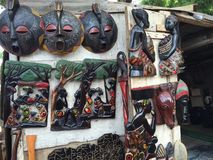 afrykańska rzeźba Fotografia Stock