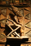 afrykańska rzeźba drewniana Zdjęcia Royalty Free