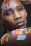 Afrykańska twarz Zdjęcia Stock