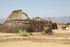 Afrykańska wioska Obrazy Stock