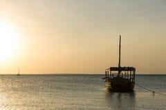afrykański łódź Zdjęcia Royalty Free