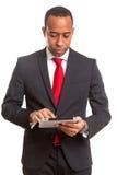 afrykański biznesowy mężczyzna zdjęcie stock