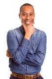 afrykański biznesowy mężczyzna Obrazy Stock