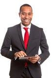 afrykański biznesowy mężczyzna Fotografia Royalty Free