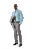 afrykański biznesowy przystojny mężczyzna Fotografia Stock