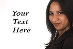afrykański bizneswoman obrazy stock