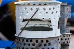 Afrykański brązownika grill Obraz Stock