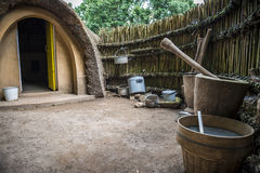 afrykański chaty Obraz Stock
