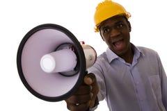 afrykański inżynier Zdjęcie Stock