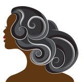 afrykański kobieta ilustracja wektor