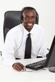 afrykański konsultant fotografia royalty free