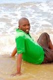 afrykański mężczyzna Fotografia Royalty Free