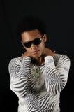 afrykański męski modny Obraz Royalty Free