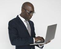 Afrykański Męski Poważny spojrzenia pojęcie Fotografia Stock