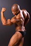 Afrykański mięśniowy mężczyzna Obrazy Stock