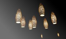 Afrykański oświetlenie zdjęcie royalty free