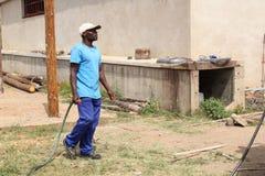 afrykański rolnik fotografia royalty free