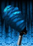 Afrykański szalik, portreta Afro kobieta w tradycyjnym turbanie Plemienna Kierownicza opakunek moda, Ankara, Kente, kitenge adama ilustracji