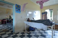 afrykański szpital Obrazy Royalty Free