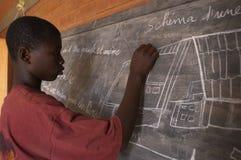 afrykański uczeń Zdjęcia Stock