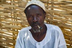 Afrykański wioska szef Obrazy Royalty Free