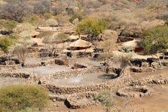 afrykański wioski zdjęcie royalty free