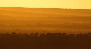afrykański wschód słońca Obraz Royalty Free