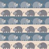 Afrykańskich zwierząt Bezszwowy wzór Obraz Stock