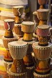 afrykańskie bębny Zdjęcia Royalty Free