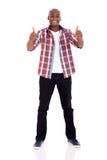 Afrykańskie mężczyzna aprobaty Zdjęcia Stock