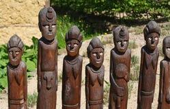 Afrykańskie plemienne rzeźby Zdjęcie Stock